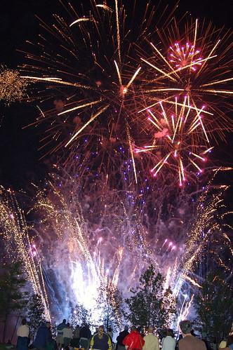 Fireworks Bethel Woods