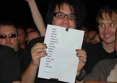 fanboy. [moz setlist.]