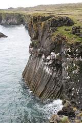 Basalt cliffs at Arnastapi