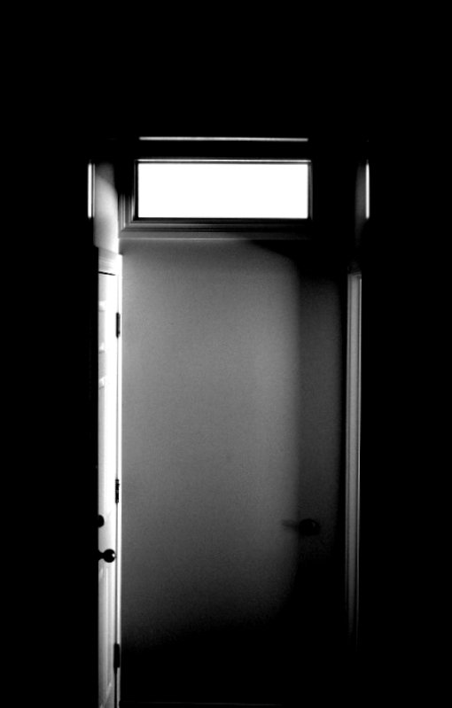 Doorway Door and Sunlight