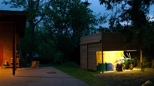 FutureShed, Serge de Gheldere, Eco-design, Green Design, Eco-playhouse, Sustainable building