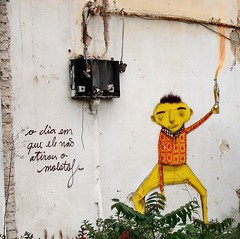 Molotof by Os Gemeos photo by server pics