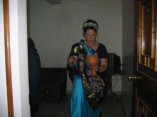 Priestess in preparation