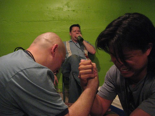 Arm Wrestling at MILF