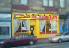 Exterior of Chop Chop on Edinburgh's Morrison St
