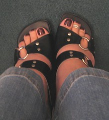 rocker girl sandals