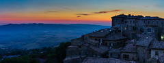 Volterra at blue hour *Explored* photo by Edoardo Angelucci Photography
