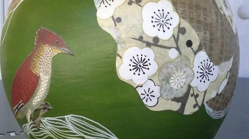 Oiseaux papillons vert D (2)