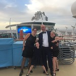 Formal night on the top deck<br/>30 Jul 2017