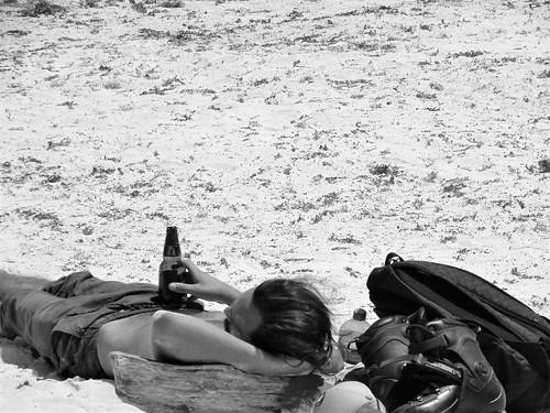 Tulum beach scenes
