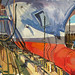 Prince of Wales in Dry dock, Gouache on paper, 64x52cm