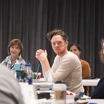 First rehearsal for THE IMPORTANCE OF BEING EARNEST at Writers Theatre. Photo by Joe Mazza—brave lux.