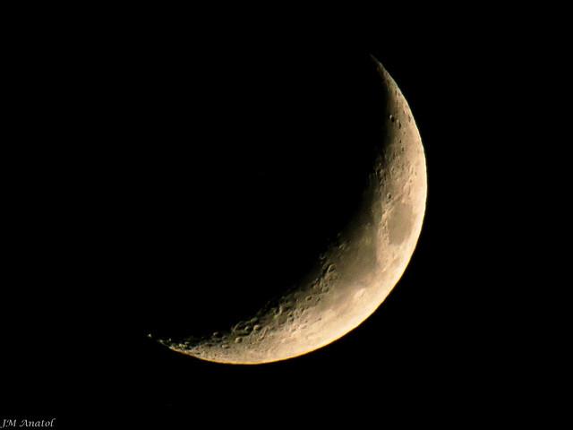 Foto de: Luna cuarto creciente | EITB Fotos de usuarios