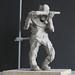 Metal worker 3, Clay, 20x20x35cm
