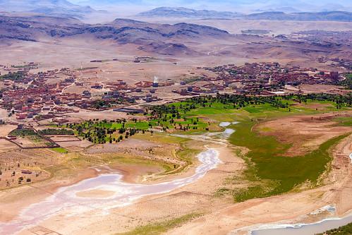 Ready to land in Ouarzazate ورزازات
