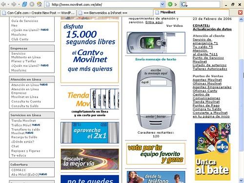 Mensajes cantv for Oficina virtual cantv