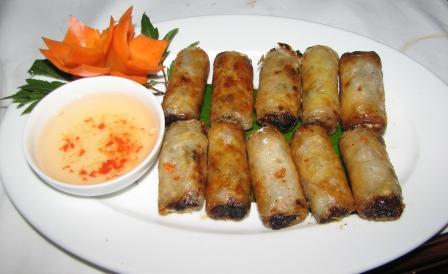 Hanoi spring rolls