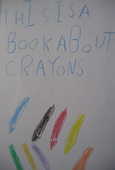 A book about crayons
