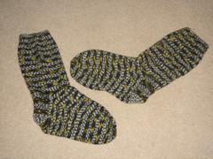 V's socks