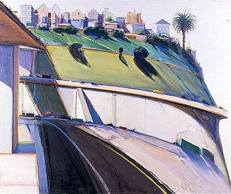 wayne thiebaud paintings. Wayne Thiebaud