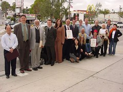 Glendale Boulevard Dedication