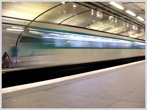 Le train fantôme de Concorde