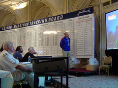 Boston Marathon Leader Board