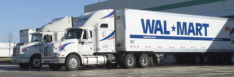 Wal-Mart trucks