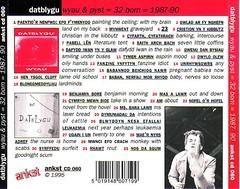 32 Bom - Cefn bocs CD