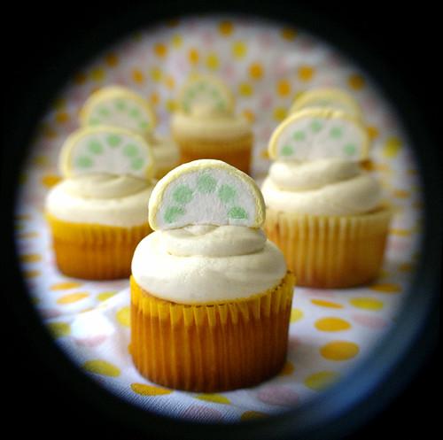 lemony cupcakes