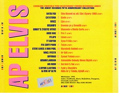 Ap Elvis - CD, bocs cefn