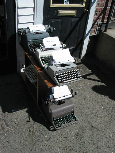 Street typewriters 2
