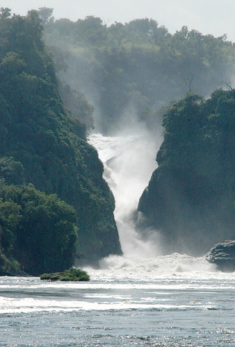 Murchison Falls---view from the boat