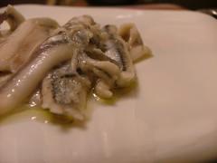 Le Alici marinate di M. Cedroni con Particella 34 di Pianogrillo
