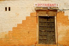 Restaurant, Jaisalmer, Rajasthan, India Captured April 14, 2006.