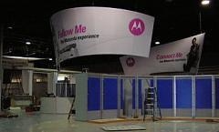 Motorola's booth at NCTA