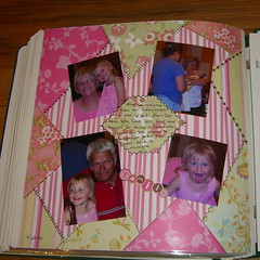 Wedding Odds 'N' Ends Scrapbook spread
