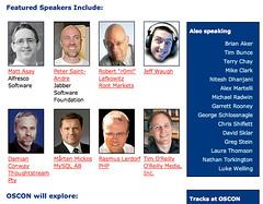 OSCON 2k6 speakers