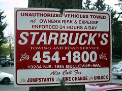 Starbucks Towing and Road Service