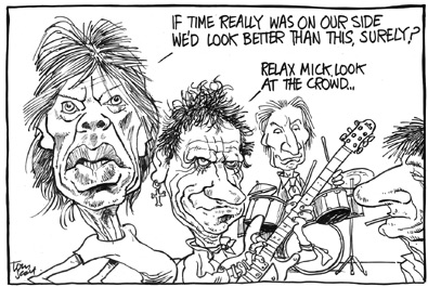 Tom Scott cartoon: Time on our side?