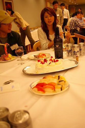 the cake & wine & me