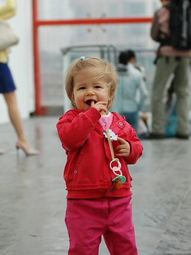 可爱的外国小孩