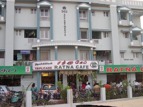 Triplicane Ratna Cafe at Velachery