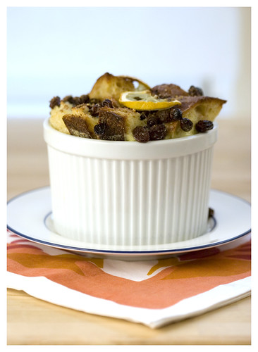 ginger bread and butter pudding