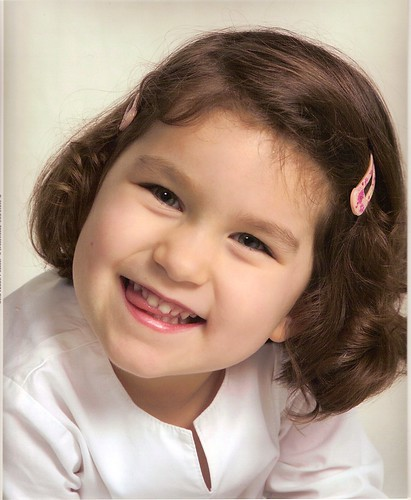 Corinne's 3 year portrait