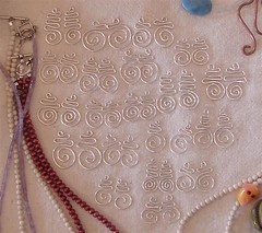 creating stash earrings prehammering