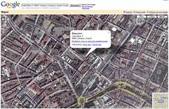 Zaragoza en Google Maps