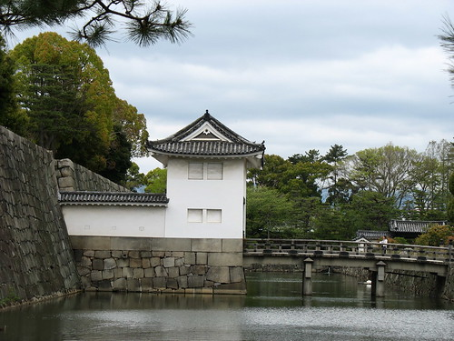 Kyoto - Nijo Castle, most