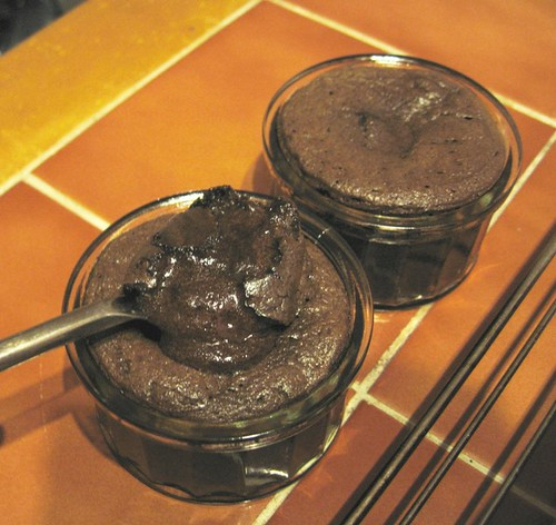 Chocolate souffle 2