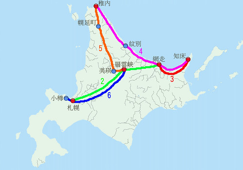 北海道全圖